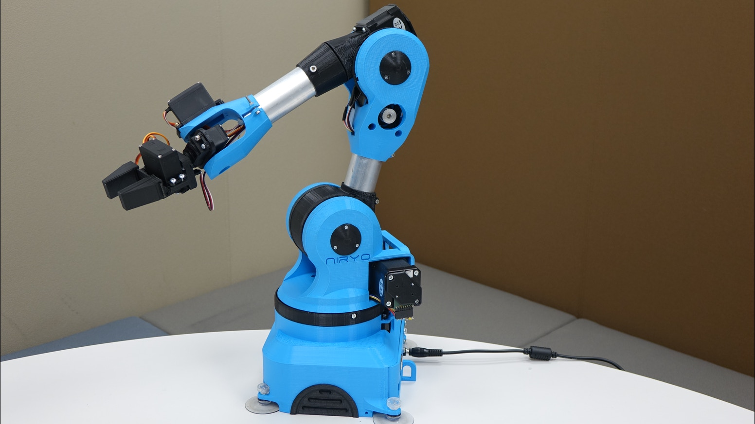 Niryo one an open source axis robotic arm just for you