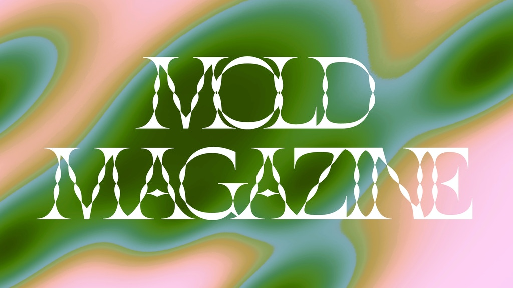 MOLD: The First Print Magazine About the Future of Food project video thumbnail