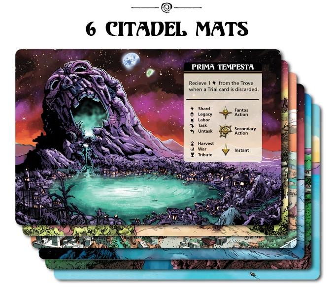 Click to see all 6 Citadel mat designs.