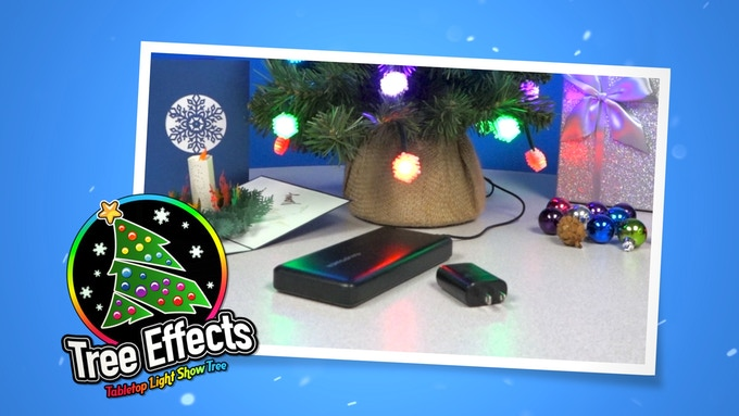 * Battery not included. Tree Effects comes with an AC adaptor.