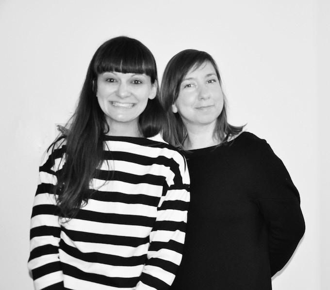Corina and Federica - founding partners and designers of WAVELENGTH