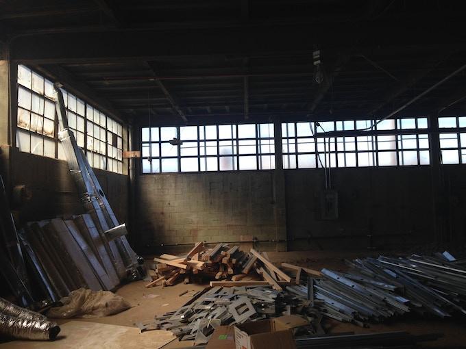 Nowadays' interior as we found it.