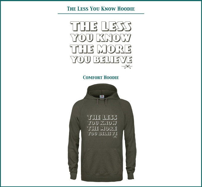 The Less You Know Lightweight Hoodie