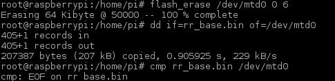 Programming the FPGA (non-volatile)