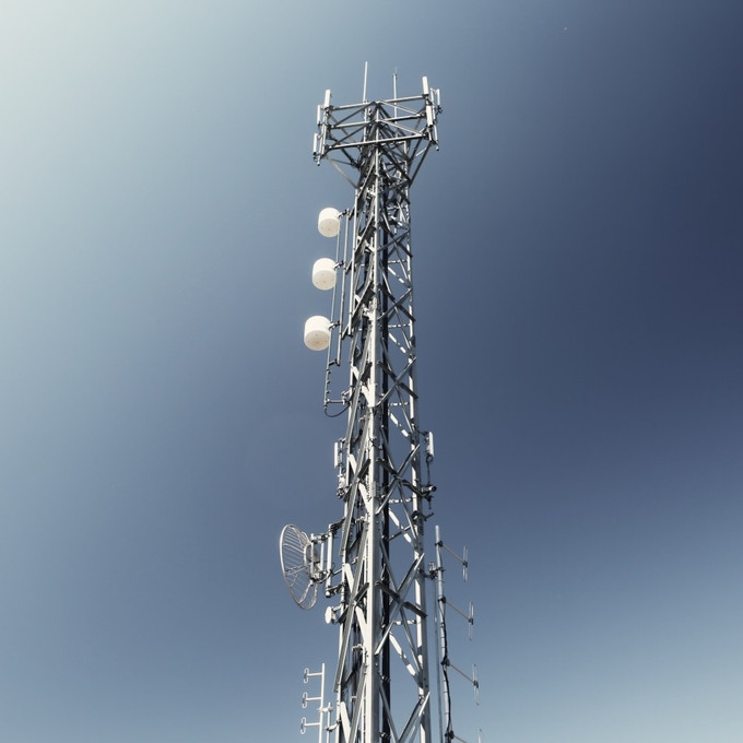 Distant cell towers require high-energy signals.