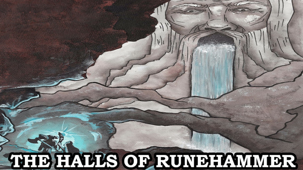 The Halls of Runehammer - A Classic Dungeon Crawl for 5E project video thumbnail
