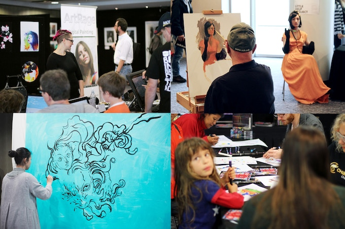 Bringing the arts to everybody - no more barriers!