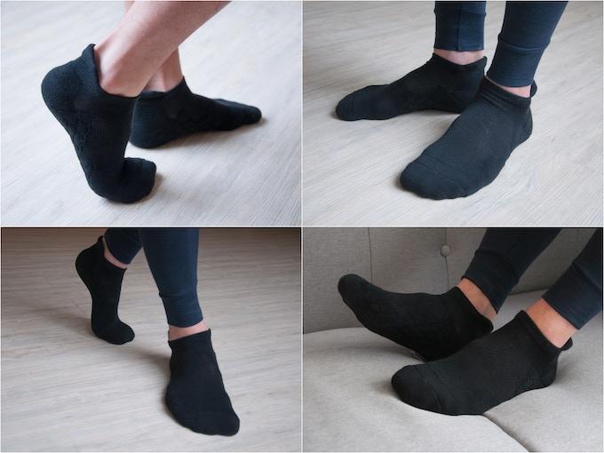 Neverquit No Show Socks