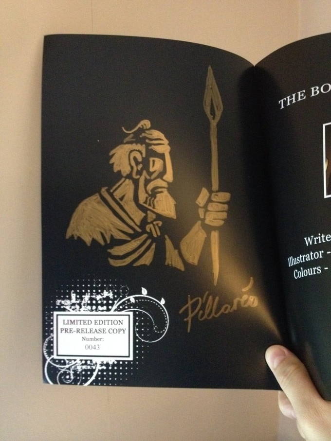 Collector Edition: numbered, signed and illustrated