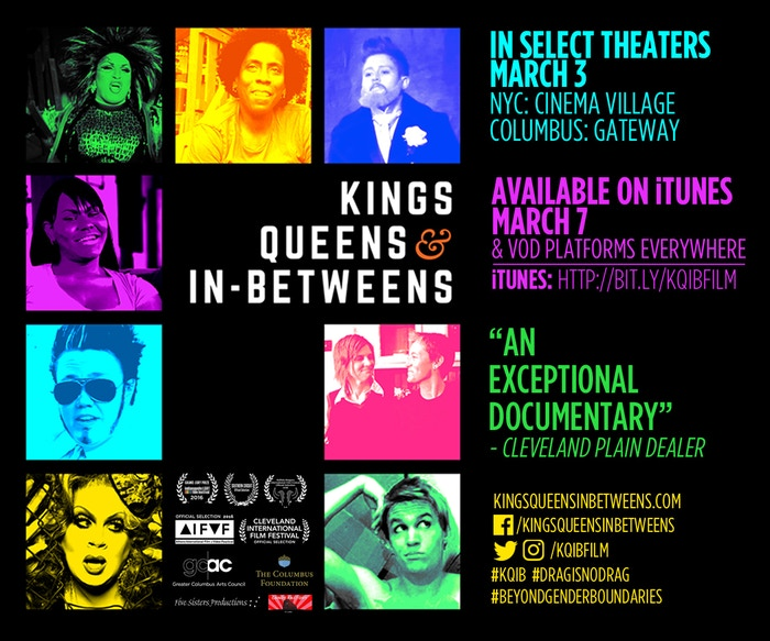 Kings, Queens, & In-Betweens - a documentary on drag by Five