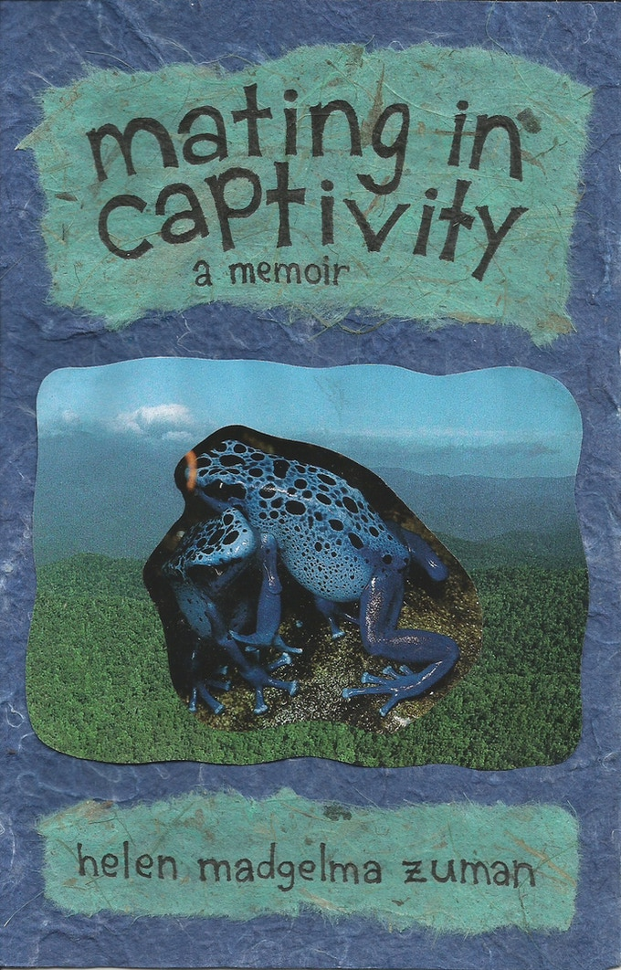 Not the book cover - just a placeholder - but I do like the blue frogs.
