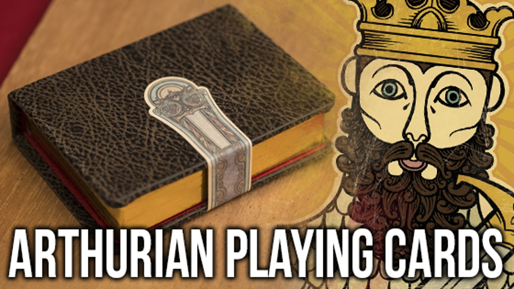 The Arthurian, playing cards inspired by King Arthur project video thumbnail