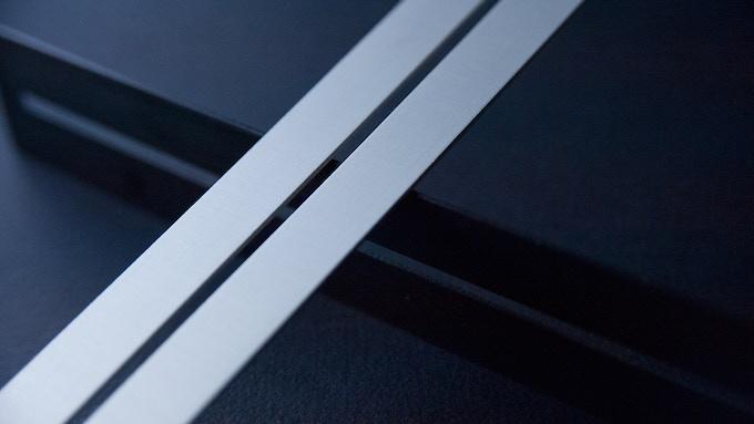 Anodized aluminum creates a perfect finish