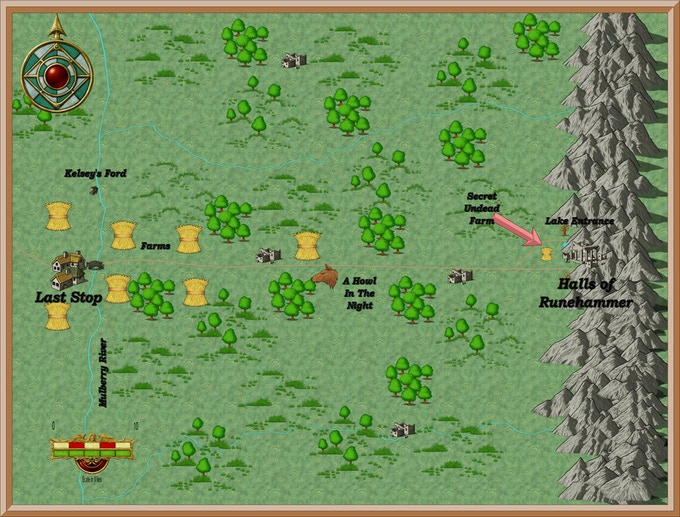 The Region West of Runehammer