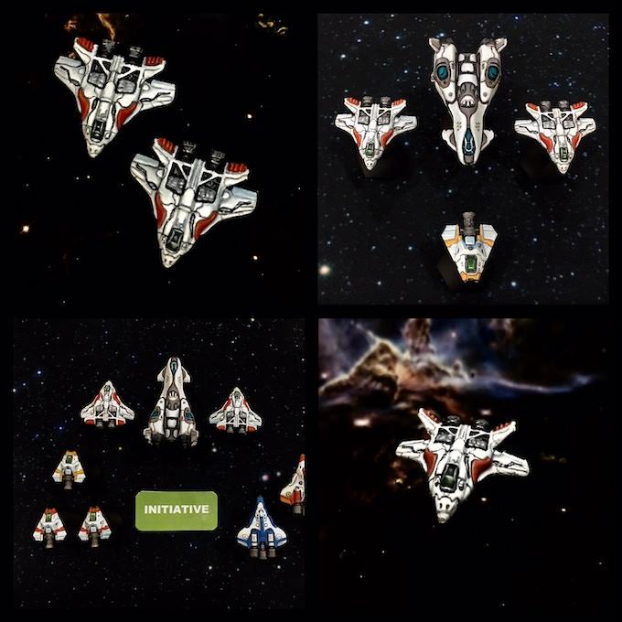 ConStar Prototype Ships