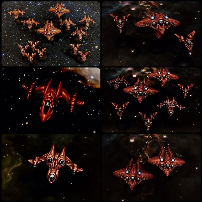 S'Sekai Prototype Ships