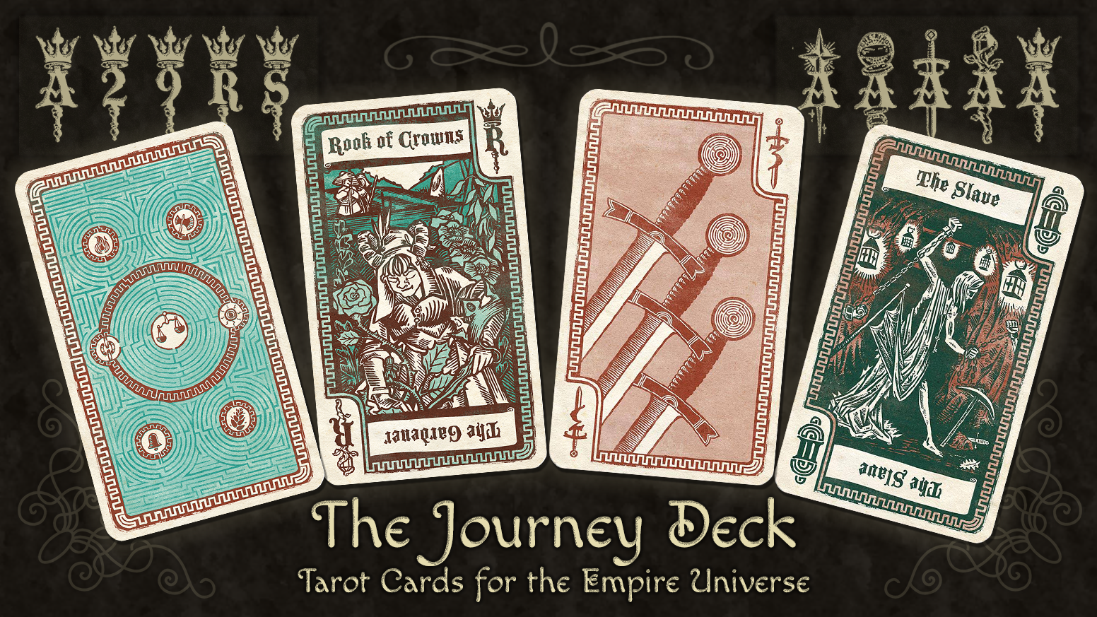 The Journey Deck - Empire Playing Cards by Tony Porteous — Kickstarter