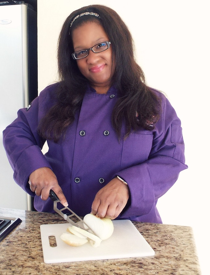 Hey Y'all! I have a Purple Chef Coat Too!