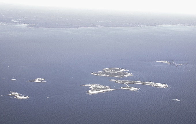 Across a Seven-Mile-Sea: The Isles of Shoals, and mainland New England