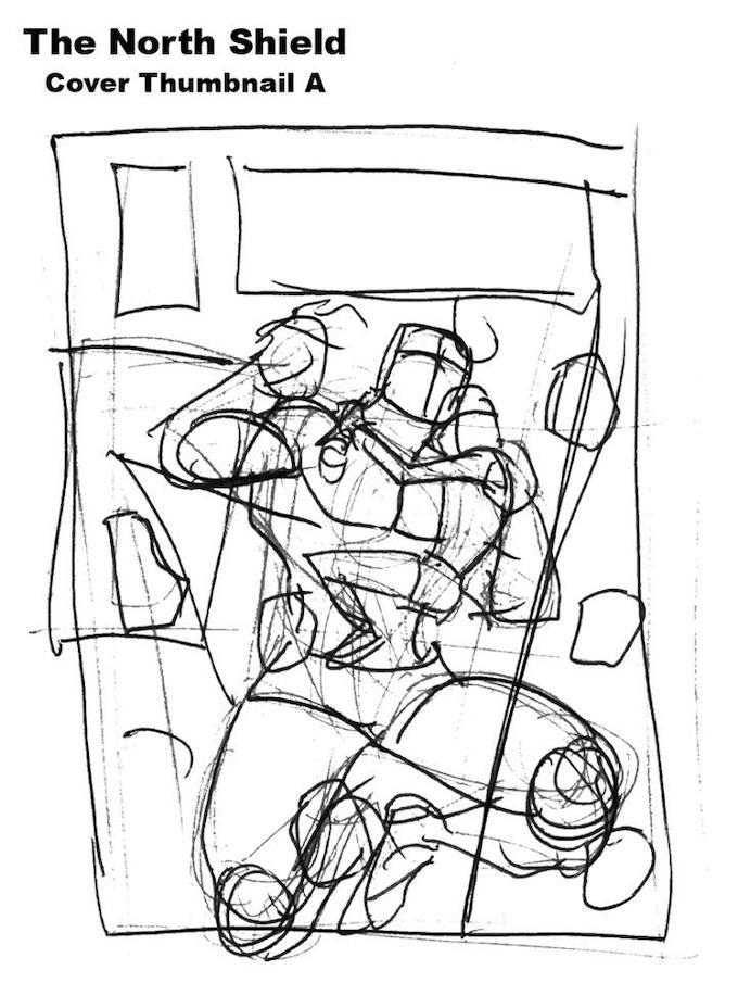 Thumb nail Sketch of Cover A