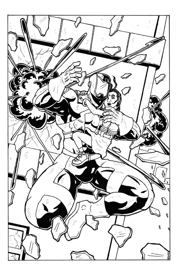 Finished cover black and white cover A