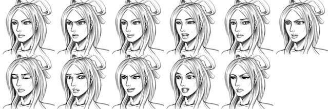 Battle Mechanics, New Face Portraits, and Animations news