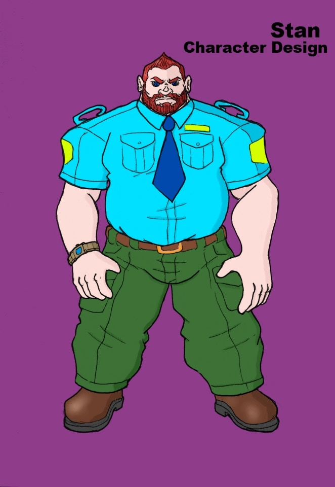 Stan security guard for Bio-Silvered Tech
