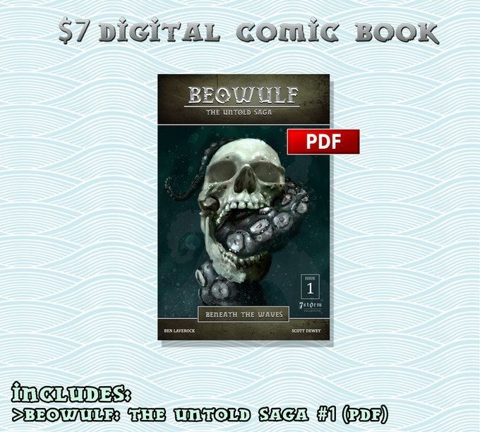 Beowulf The Untold Saga Issue 1 By Ben Laverock