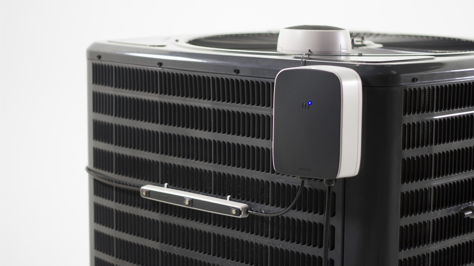 Mistbox is a connected device that pre-cools intake air to boost your AC's efficiency by 30%. Save money. Save the planet.