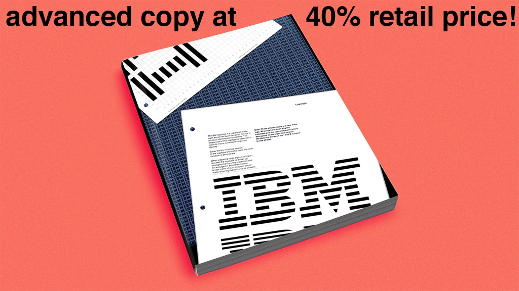 Reissue of the IBM Graphic Standards Manual by Paul Rand project video thumbnail