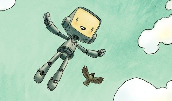The Robot and the Sparrow, The Antler Boy and Other Stories