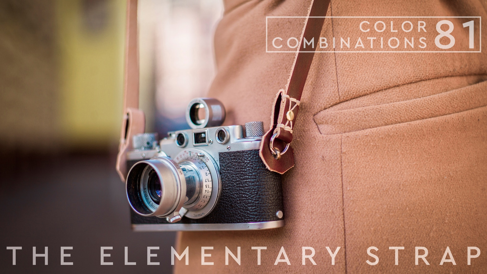 A Camera Strap, perfect for your daily shoots. Fully handmade out of vegetable tanned leather, which will last a lifetime.