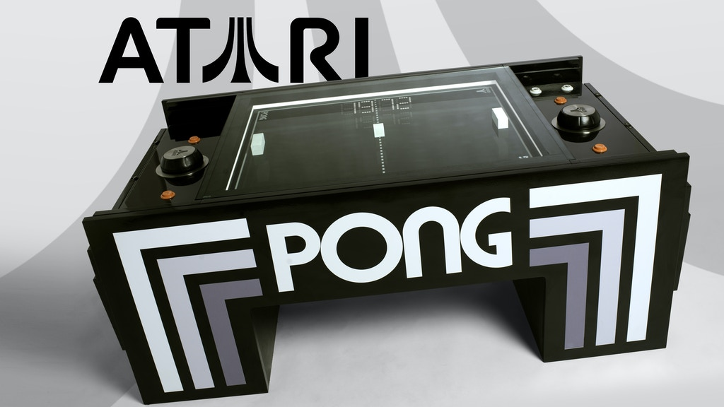 Play Atari PONG in your Coffee Table project video thumbnail