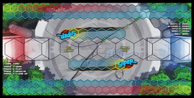 Super Chibi A.C.E. Game Board