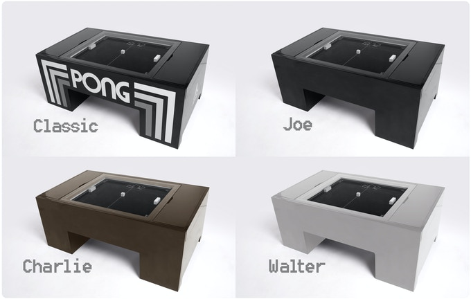 Play Atari PONG In Your Coffee Table By Gerardo Orioli Kickstarter - Atari coffee table