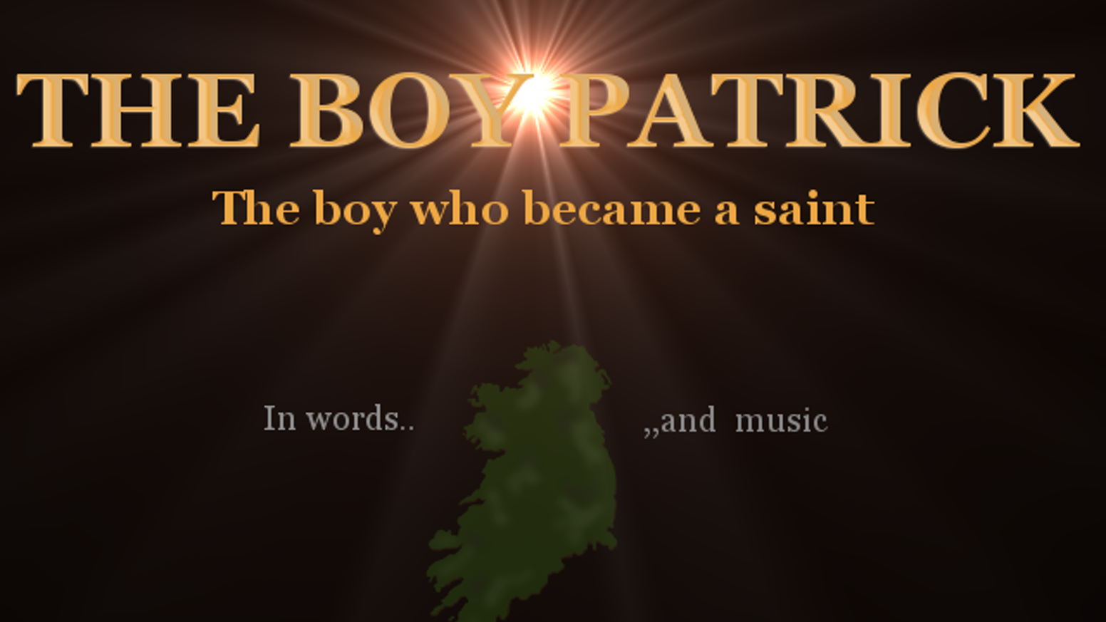 The true story of a boy who became a saint. In words and music. Illustrated book and CD audiobook.If you missed the kickstarter, no worries - go to our brand new Shopify Store!