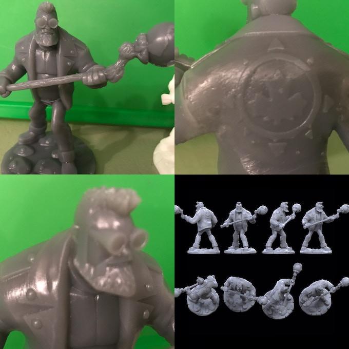 The Auroraman animated style figure.