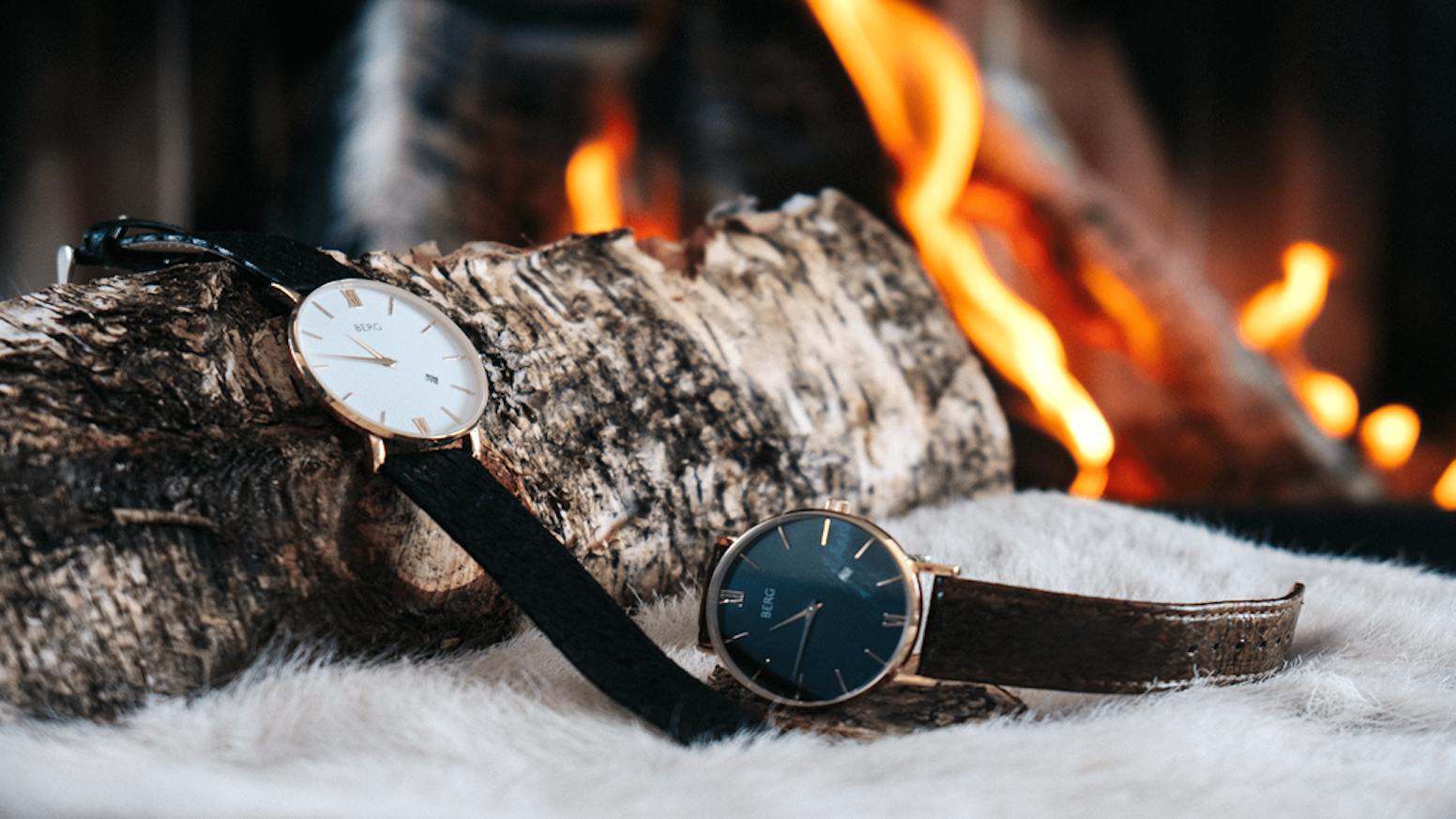 Berg the ultimate minimalist timepiece by berg kickstarter for Ultimate minimalist house