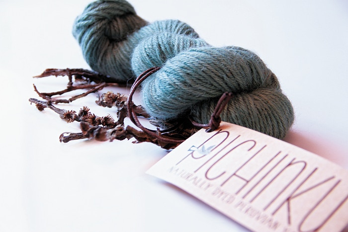 Pichinku is one of the first Peru-based producers of 100% naturally dyed alpaca and wool knitting yarns, lovingly made in small batches by the hands of skilled women artisans.