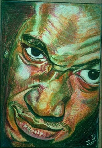 """""""In Yo Face"""" by Joseph Wheeler III."""