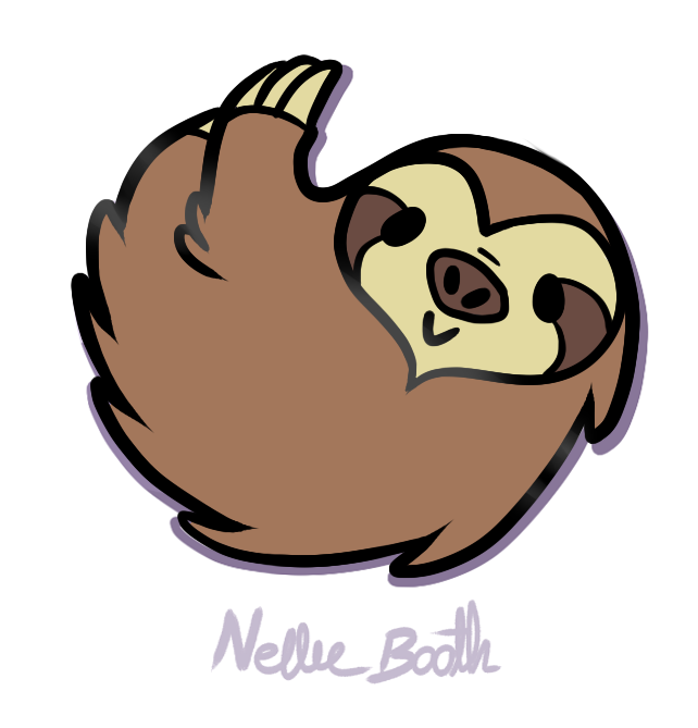 Sweet Sloth Pins By Nellie Booth Kickstarter