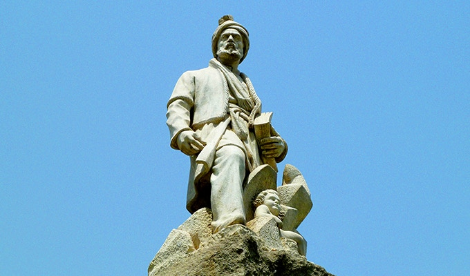 Statue of Ferdowsi in Tehran