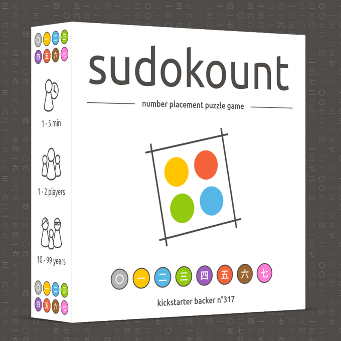 SudoKount, a colorful number placement puzzle game  by