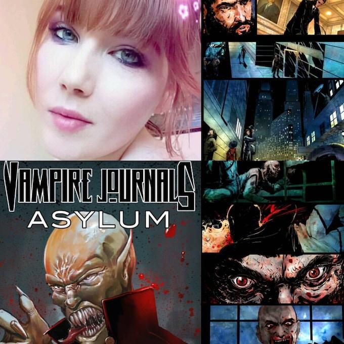 I am happy to bring you VJ:Asylum #1