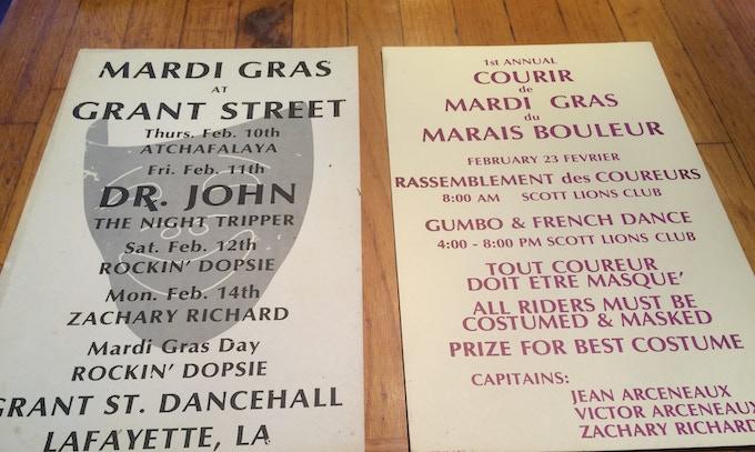 Affiche vintage Mardi Gras Posters, 1986 & 1982