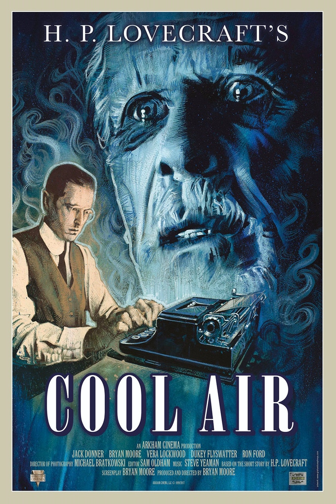 "Graham Humphreys' 2017 art for the Cool Air DVD/Blu-ray ""Duo-Chrome"" release!!!"