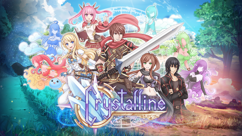 Crystalline - Visual Novel Game project video thumbnail