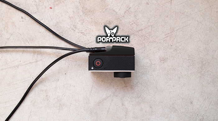 The first GoPro accessory that adds a universal external shutter button input AND has a wired remote LED indicator for helmet use.