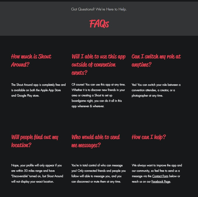 FAQs - See more on our website
