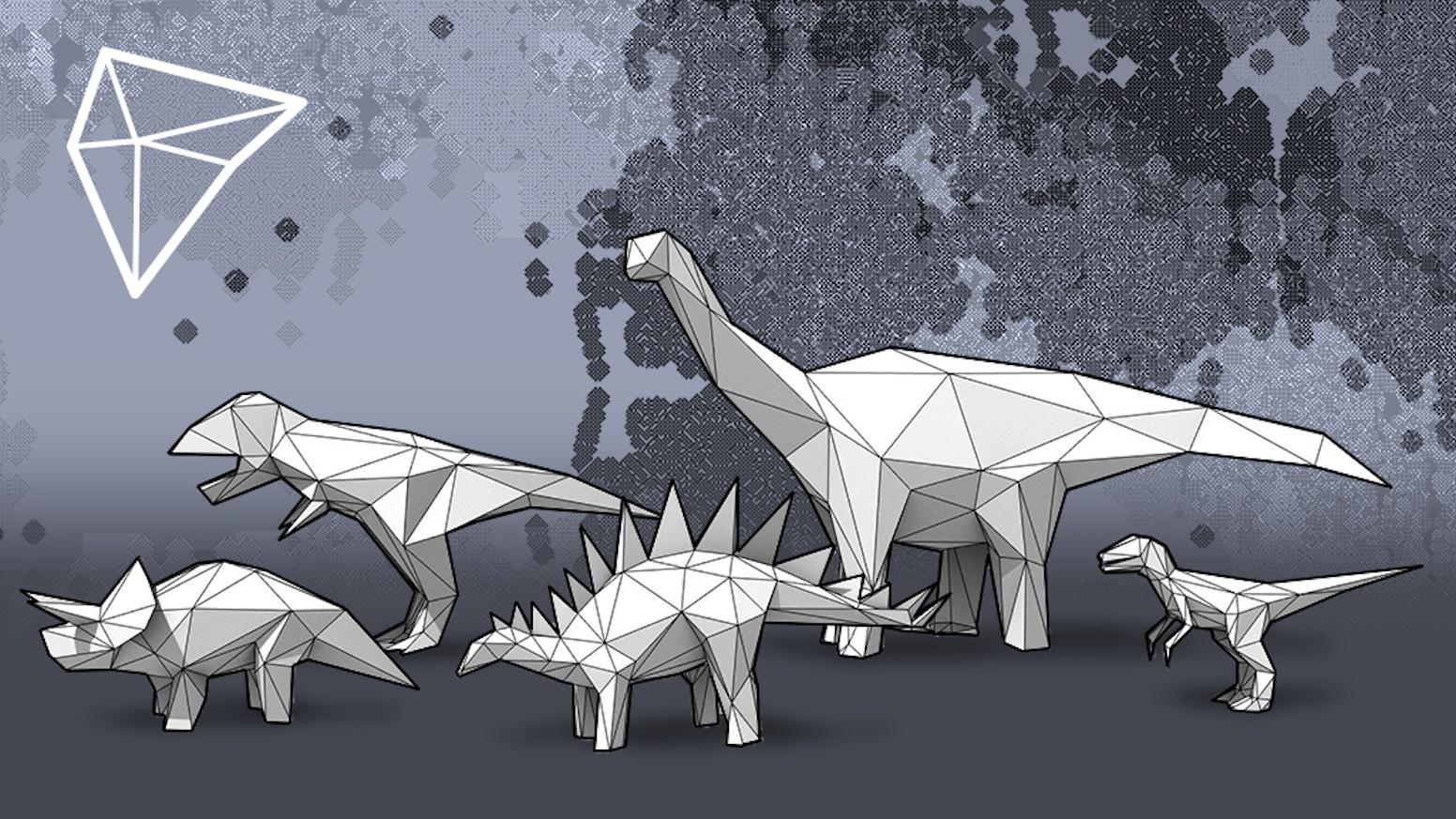 Polyzoo™ Dinosaurs + Extras by Joe Karpiel — Kickstarter